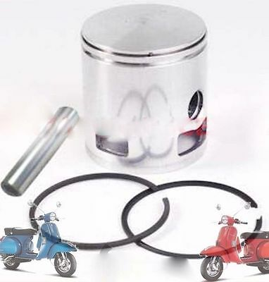 Vespa Px Lml Star Stella Piston Assembly 2Nd O/s 58.2 Mm Flat Head @aus