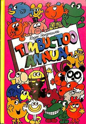 TIMBUCTOO ANNUAL 1979, Roger Hargreaves, Good Condition Book, ISBN