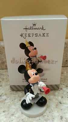 Hallmark 2014 Mickey's New Year Mouse A Year of Disney Magic Ornament Series