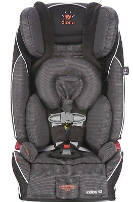 Diono Radian RXT Shadow Convertible + Booster Folding Child Safety Car Seat 2018