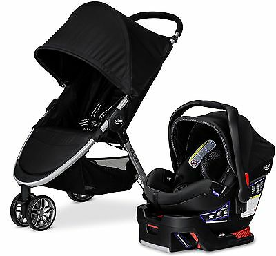 Britax B-AGILE 3 / B-SAFE 35 ELITE TRAVEL SYSTEM Stroller Domino NEW 2017