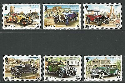 Jersey 1989 Classic Cars--Attractive Transportation Topical (471-76) MNH