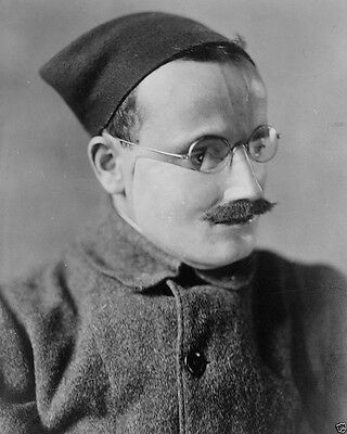 Disfigured French Soldier prosthetic face mask New World War I WWI 8x10 Photo
