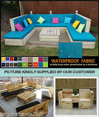 6de281b29ab8 Std Waterproof Cushion For Pallet Garden Furniture Rattan Cane Sofas And  Chairs