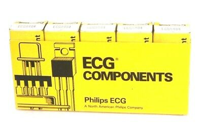Lot Of 5 Philips Ecg Ecg6404 Silicon Unilateral Switches