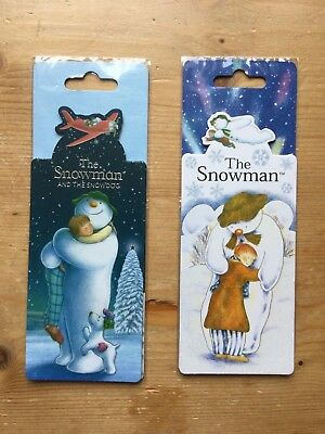 Snowman & Snowdog Magnetic Book Marks - 2 Designs - Which 1 Do You Want?