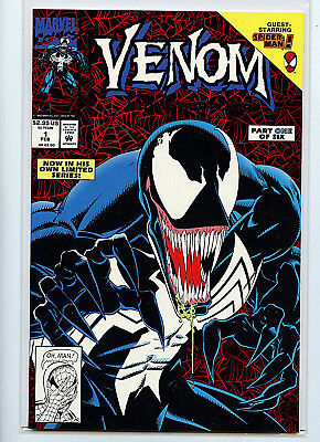Venom #1 Lethal Protector Marvel Comics Spider-man 1993 NM+ H35