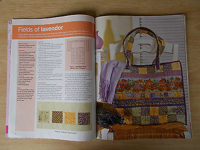 Traditional Crafts #8~24 Projects~Quilts~Cushions~Runner~Bags~Doll~Embroidery
