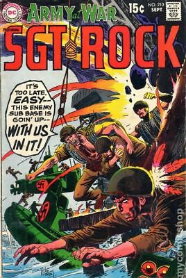 Our Army at War (1952) #210 VG/FN 5.0 LOW GRADE