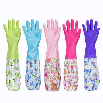 Durable Waterproof Household Glove Dishwashing Cleaning Rubber Washing Gloves