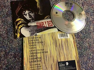 Simply Red Cd Album Picture Book East West Issue From Collection
