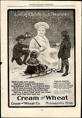 Cream of Wheat Advertisement January 1901