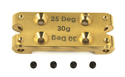 Associated 91659 FT Brass Bulkhead : RC10B6 / B6 Club Racer / B6D