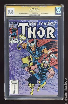 Thor (1962-1996 1st Series Journey Into Mystery) #350 CGC 9.8 SS 1270531010