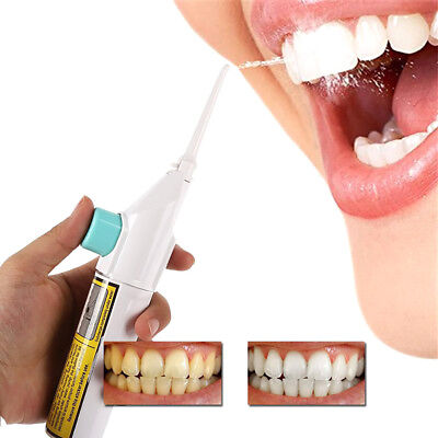 Portable Power Flosser Floss Dental Oral Water Jet Tooth Cleaning Pick Flusher