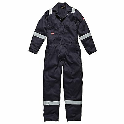 Dickies Workwear Cotton Mechanic Coverall In Navy Blue - Extra Large (XL)
