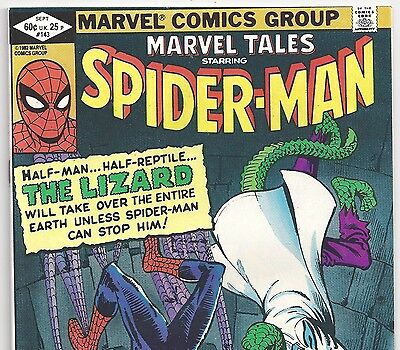 The AMAZING SPIDER-MAN #6 Reprint in Marvel Tales #143 from Sept. 1982 in VF DM