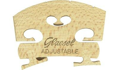 Glaesel Self-Adjusting 3/4 Violin Bridge Medium