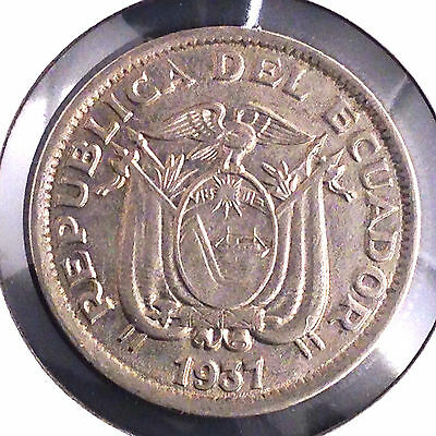 1937 Ecuador Un Sucre KM#78.1 [Combined Shipping Available] (11694)