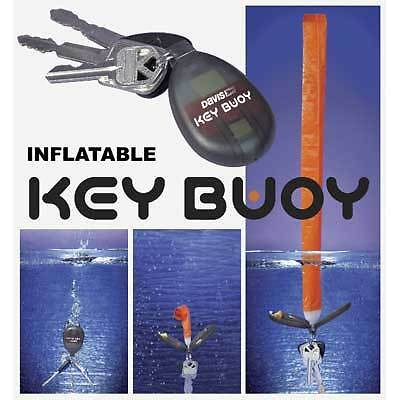 Key Buoy Self Inflating Key Ring Boat Key Inflates Automatically in Water