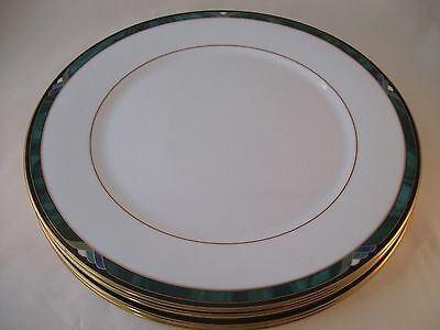 Lenox Kelly Fine Bone China Debut Collection Set of 4 Dinner Plates NWT USA New