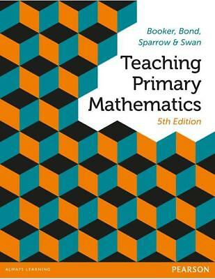 NEW Teaching Primary Mathematics By George  Booker  Paperback Free Shipping