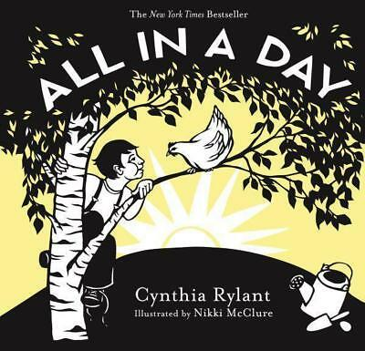 NEW All in a Day By Cynthia Rylant Board Book Free Shipping