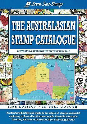 New 2017 - The Australasian Stamp Catalogue 32nd Edition - Seven Seas Stamps