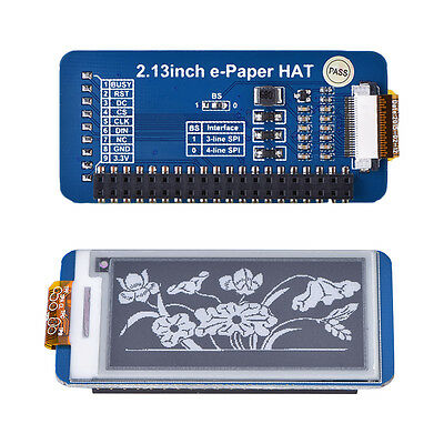 2.13Inch e-Paper 250x122 E-Ink Display Module for Raspberry Pi/Arduino/Nucleo LY