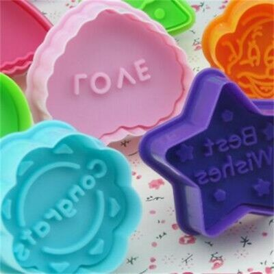 Cute Blessing Letter Biscuit Pastry Cookie Cutter Cake Decor Baking Mold Tool