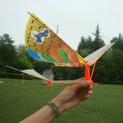 Famous Ornithopter Classic Rubber Band Powered Flapping Tim Bird Large Wingspan