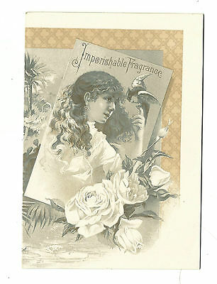 1880's AD Booklet Murray & Lanman's Florida Water Perfume Professor Poehl Russia