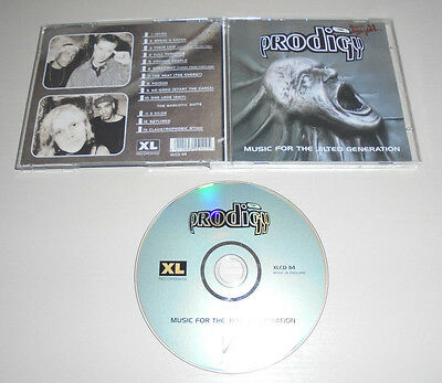 CD The Prodigy - Music for the Jilted Generation 13.Tracks 1994 No Good ... 175