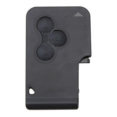 3 Buttons Replacement Case Key Card Shell for Renault Clio Megane Grand Scenic