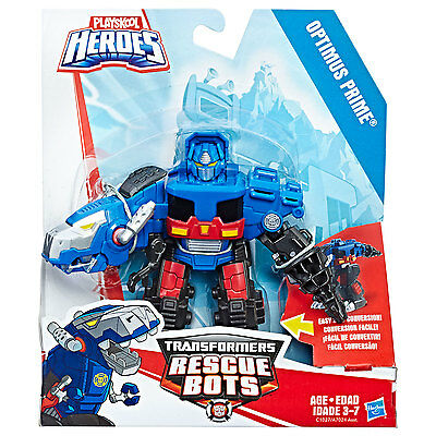 Playskool Heroes Transformers Rescue Bots - Optimus Prime to T-Rex Figure