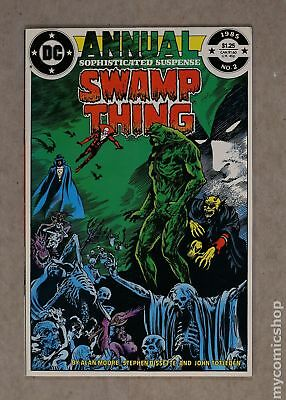 Swamp Thing (1982 2nd Series) Annual #2 FN+ 6.5