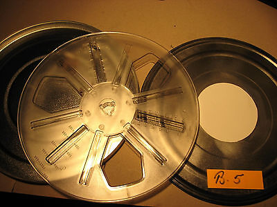 8 mm Film 250 Meter Spule in Blechdose,Super/Normal 8 mm Spule -film Reels.B.5