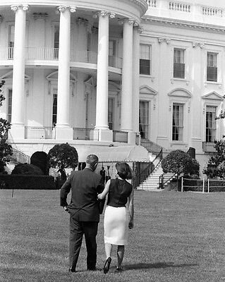 First Lady Jacqueline Kennedy with Vice-President Lyndon Johnson New 8x10 Photo