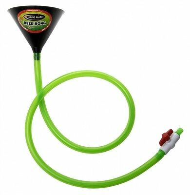 Head Rush Extreme Funnel & Tube 6 Foot Xtreme Party Beer Bong with Valve Switch