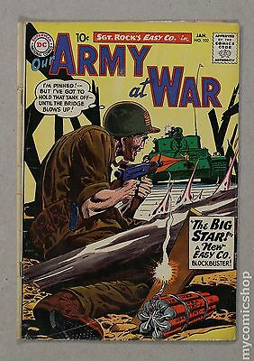Our Army at War (1952) #102 GD+ 2.5
