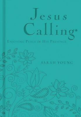 Jesus Calling Enjoying Peace in His Presence Teal Edition by Sarah Young NEW