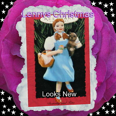 Hallmark Ornament, 1994 Wizard of Oz, Dorothy and Toto, Looks New