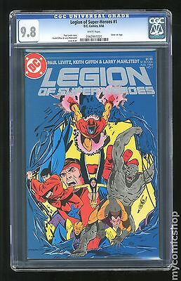 Legion of Super-Heroes (1984 3rd Series) #1 CGC 9.8 0960997020