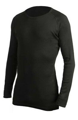 360 Degrees Adults Thermal Top - Black