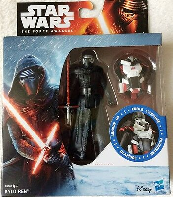 Star Wars The Force Awakens 3.75 Inch Figur Schnee Mission Armor Kylo ren B3888