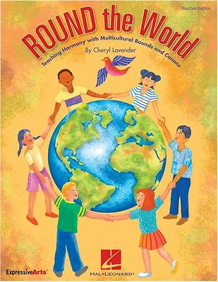 Hal Leonard Round World Teaching Harmony Multicultural Rounds Canons CD