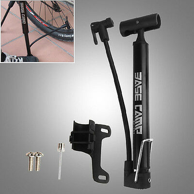 High Pressure Portable Bike Bicycle Cycling Air Pump Inflator Tyre Tire Ball