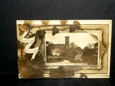 Worcestershire - Greetings from WOLVERLEY - 1924