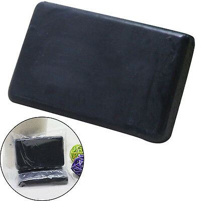 Black Bamboo Charcoal Soap Face Body Clear Anti Bacterial Tourmaline Soap Newest