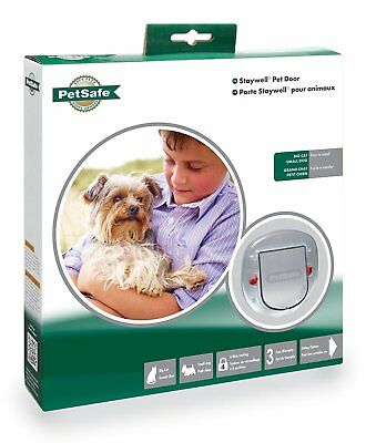 PetSafe Staywell Big Cat/Small Dog Pet Door 4 Way Lock Frosted Plasctic Flap